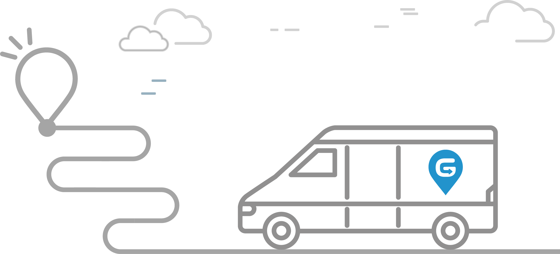 cargo van illustration