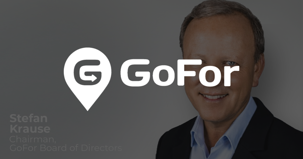 Stefan Krause Elected to Chairman of GoFor's Board of Directors