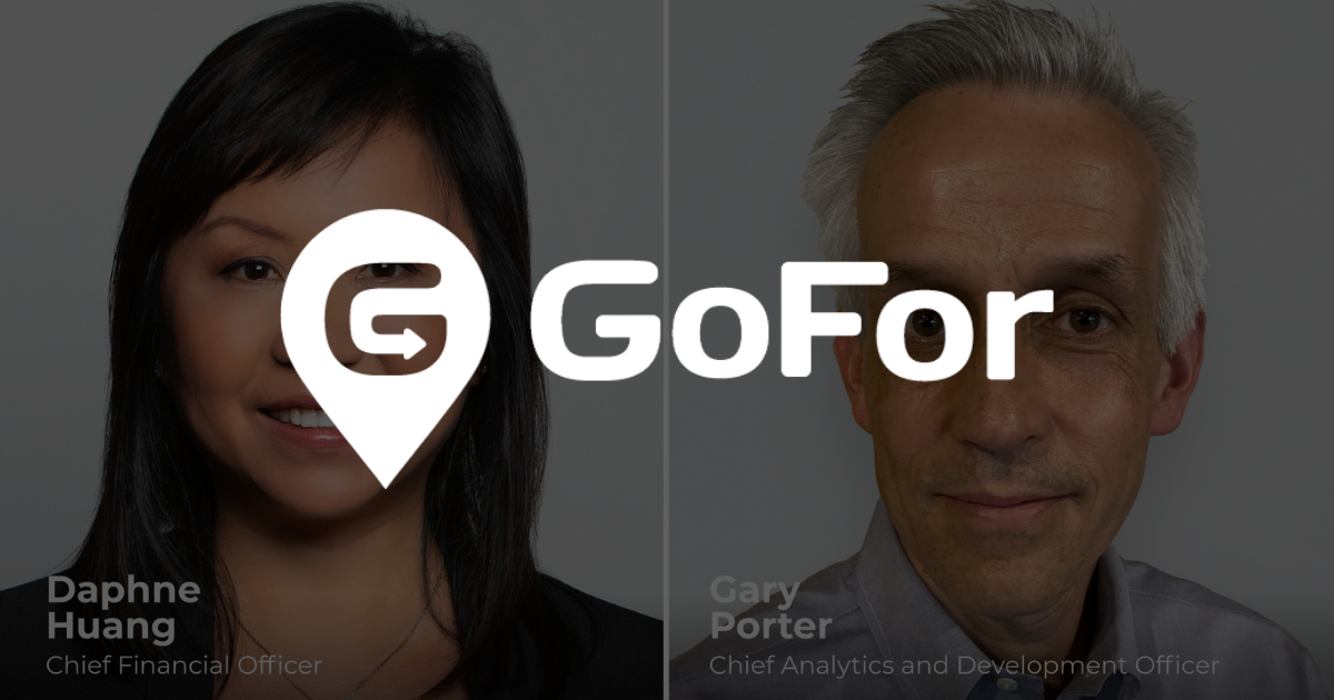 GoFor Announces New Additions to Executive Team with Appointment of Chief Financial Officer and Chief Analytics & Development Officer