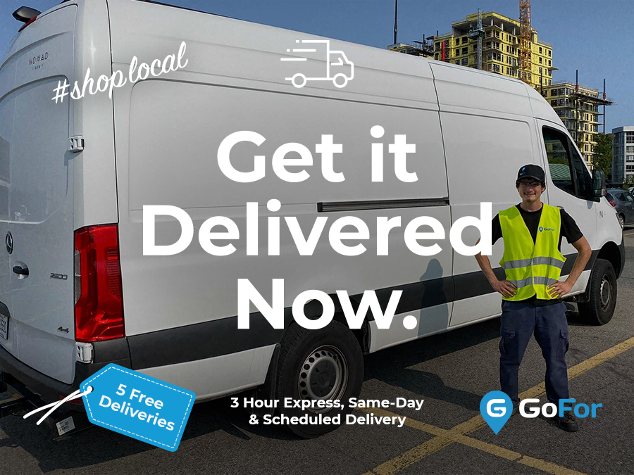 """On-Demand, Same-Day Delivery Experts, GoFor, Launches """"Shop Local"""" Program"""
