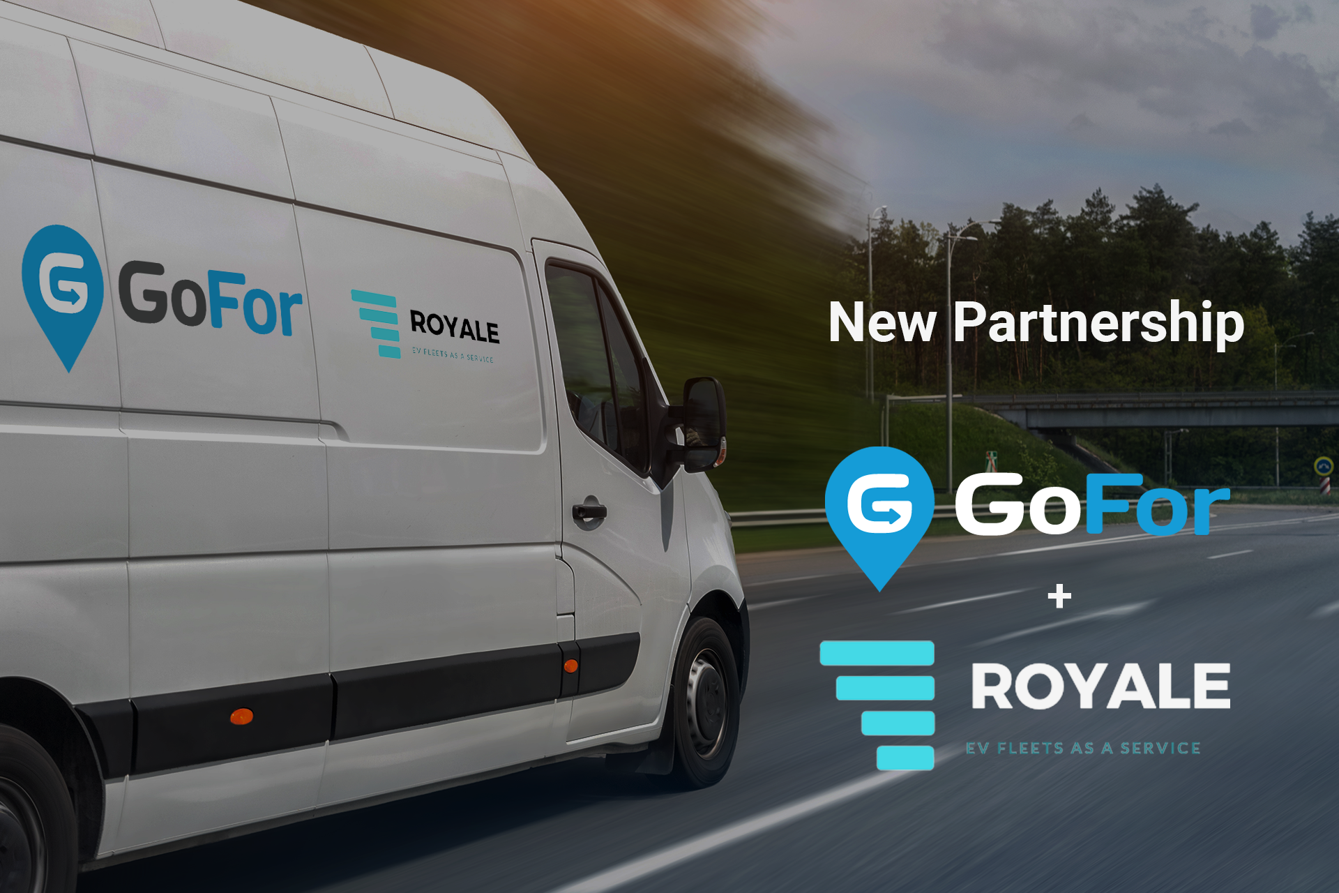 On-demand Delivery Pioneer GoFor Drives Industry into a Clean, Green Future, in Partnership with Royale EV to Electrify Vehicle Fleets